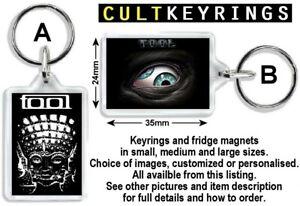 Tool keyring / fridge magnet - 10000 Days, Maynard James Keenan, Danny Carey
