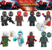 Marvel Film Spiderman Away From Home Venom Ghost Rider Mysteriou Building Blocks