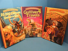 Swiss Family Robinson, Gullivers Travels, 20,000 Leagues Under The Sea,