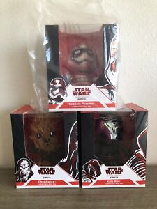 Star Wars Petco Fans Dog Toys: Phasma - Kylo - Chewie Complete Set of 3 NIB