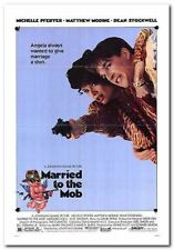 MARRIED TO THE MOB - 1988 - Orig folded 27x41 Movie Poster - MICHELLE PFEIFFER