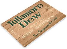 Tullamore Dew Irish Whiskey Retro Rustic Logo Wall Art Decor Bar Metal Tin Sign