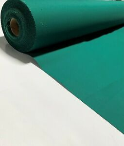 "Canvas Twill Fabric Hunter Green Poly Cotton  7 Oz. 64""W Apparel Upholstery"