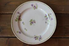 Vintage B&T co Limoges France Flower Violets Dinner Plate