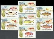 SPORT FISH & FISHING LURES ~ 2017 Allen & Ginter Card Lot