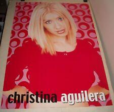 Rolled 1999 Pyramid Posters Christina Aguilera Closeup Pinup Poster Pr 3205