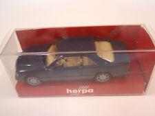 Herpa 021456 MERCEDES BENZ E 320 Coupe Blu 1:87 Nuovo u. OVP