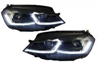 LED Scheinwerfer für VW Golf 7 12-17 Facelift G7.5 R Look Sequenzielle Lichter