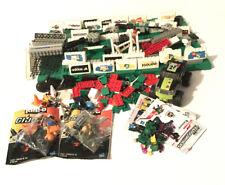 Vintage Legos mixed with modern Legos