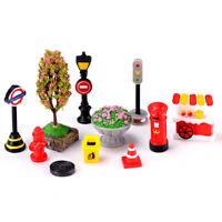 DIY resin mini miniature fairy house ornament craft garden decor accessories LS