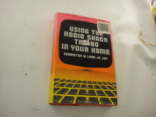 Using Radio Shack TRS-80 In Your Home Kenniston Lord 1981