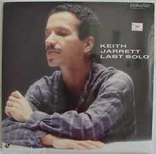 Keith Jarrett  - Last Solo  Live Tokyo Japan 1984 Piano JAZZ Music NEW Laserdisc