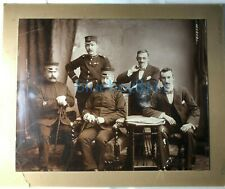 More details for victorian army pay corps paymasters group photo 9 x 7 inch mounted dublin studio