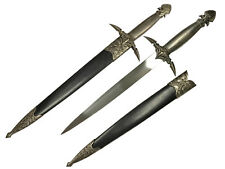"""17 1/2"""" Medieval Dagger With Scabbard"""