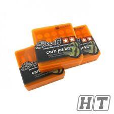 Stage 6 Principaux Buses Set carburateur 6 mm 60 - 82 Pour 50 Massimo ITALJET Enduro Arc