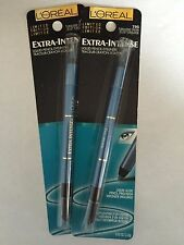 Loreal Extra-Intense Liquid Pencil Eyeliner, 795 Turquoise Crush, Lot of 2!
