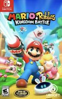 Mario + Rabbids Kingdom Battle - Nintendo Switch Brand New Sealed