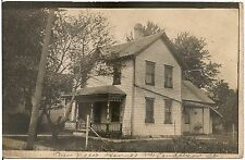 """""""Our New Home"""" on Sanderson Street ? in Madison WI RP Postcard 1928"""