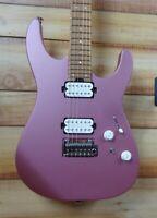New Charvel Pro Mod DK24 HH 2PT CM Electric Guitar Satin Burgundy Mist