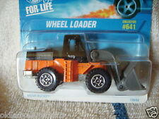 HOT WHEELS / 1997 / 30 YEARS / WHEEL LOADER / COLLECTOR # 641 CONSTRUCTION EQUIP