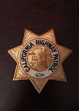 California Highway Patrol Star Patch
