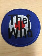 """The Who Metal Rock Band Sew Iron On Embroidered Patch 3"""" Diameter"""