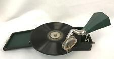 RARE Antique Walker Mignonphone Miniature Portable Gramaphone COMPLETE ORIGINAL