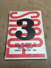 Focus 3 Spring 1939 Art/Design Architectural Quarterly Magazine Aalto Fry Smee