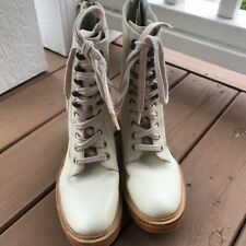Free People Santa Fe Lace Up Combat Boots Size 39