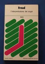 Freud - L'interpretazione dei sogni - Psicanalisi - Ed. Newton Compton 1983