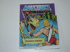 MOTU HE-MAN MASTERS OF THE UNIVERSE MINI COMIC 1984 SKELETOR'S DRAGON - DE IT
