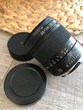 Leica SUMMARIT-M 75mm f/2.5 Manual Focus 6-Bit Coded Lens - Black 11645