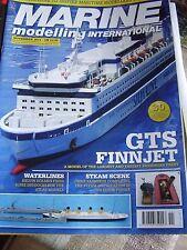 MARINE MODELLING BOAT NOVEMBER 2011 GTS FINNJET SILJA LINE USS NEW JERSEY
