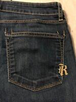 Rich & Skinny Jeans Stretch Women's Boot Cut Size 28 X 31