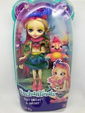 Enchantimals - Peeki Parrot with Pet Sheeny - BRAND NEW - Hard to Find Doll