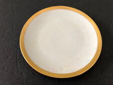 "Thomas China Bavaria Iridescent Luster Gold Trim Smooth Edge - 6"" BREAD PLATE"