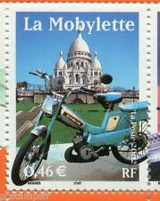 FRANCE 2002, timbre 3472, SIECLE AU FIL, TRANSPORTS, MOTO, MOBYLETTE, neuf**