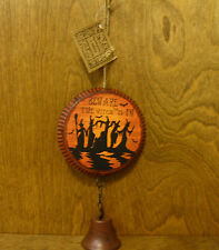 """Hanna's Handiworks #63513B Halloween Greeters Sign, """"Beware The Witch Is In """""""