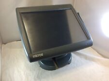 Micros Work Station 5a Workstation 5a Ws5a Ws5 Pos Terminal Amp Stand 256mb