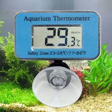 Digital LCD Fish Aquarium Tank Marine Water Thermometer Sensor Wired