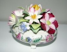 Minton Haddon Hall FLOWER POSY table ornament DECORATION piece Fine Bone China