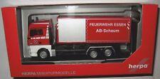 Herpa 093279 MAN TGX XLX 3-achs Abrollcontainer-LKW Feuerwehr Essen 1:87 HO