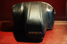 Raro Minolta CF700 Slr De Marca Original Estuche De Cuero Excelente Pedido Japón