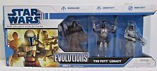 Star Wars The Fett Legacy Evolutions Set Legacy Collection ~ Hasbro 2008 FS