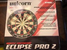 One Size Black Unicorn Pro Dartboard Unilock