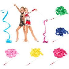 Twirling Rod Gymnastic 4M Props Dance Stick Gymnastics Ribbons Ballet Streamer