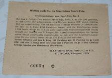 Staatliche Sport-Toto Gmbh Stuttgart-Sport-Toto-5-Schein-1948-