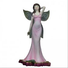 * LISA STEINKE Fairy Figurine THYME Fairie Statue PIXIE Faerie Site Herb Wings
