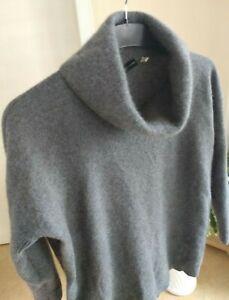 """Cashmere Pullover Damen """"C&A"""", Größe: S-M, Farbe: Grau, 100% Cashmere."""