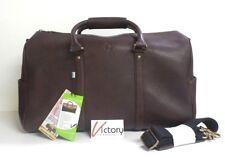 73b6bcdbdfcd Ossington Genuine Bison Leather Duffel Bag Brown OS108579